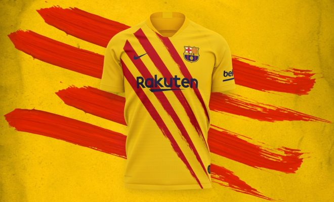 FC Barcelone 4eme maillot saison 2019-2020
