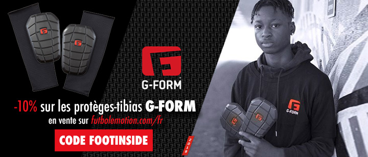 Proteges-tibias G-Form