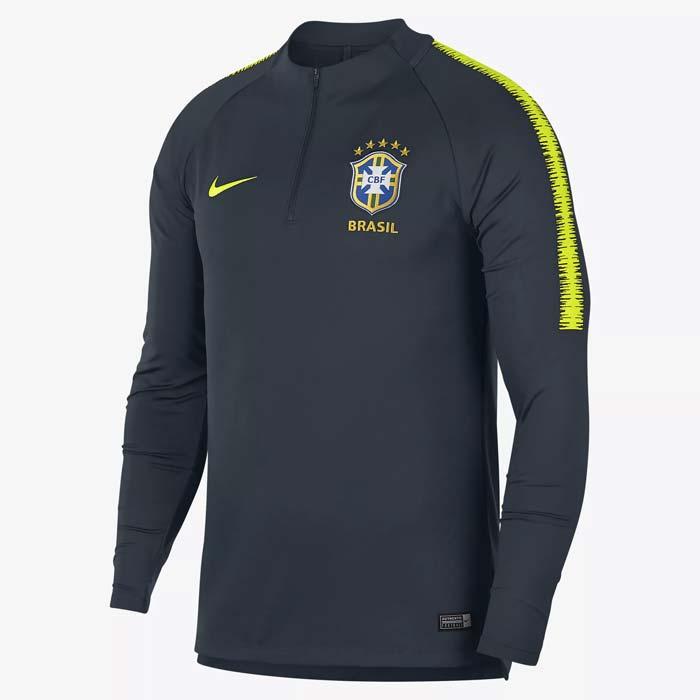 Haut de Football Brasil CBF Dri-FIT Squad Drill