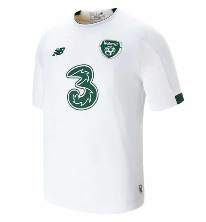 Le maillot extérieur de l'Irlande pour l'EURO 2020