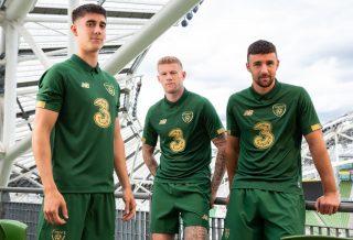 L'Irlande dévoile ses maillots de football pour 2020