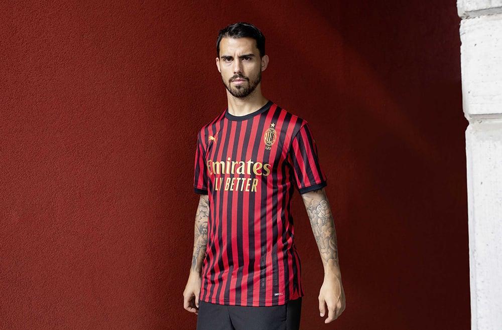 Maillot Milan AC 120ans