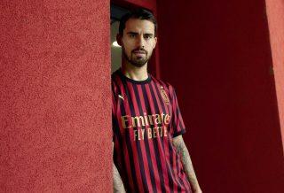 Milan AC : un nouveau maillot qui célèbre les 120 ans du club