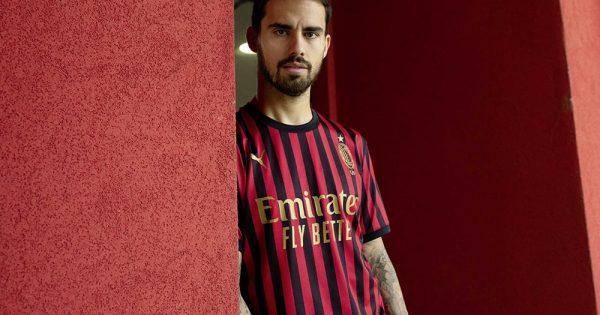 Milan AC maillot 120 ans