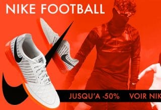 Soldes Nike Football - Chaussures et Maillots pas cher