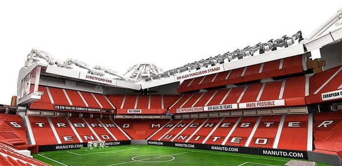 Stade Old Trafford en LEGO