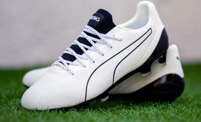 chaussure de foot Puma King Platinium Lazertouch