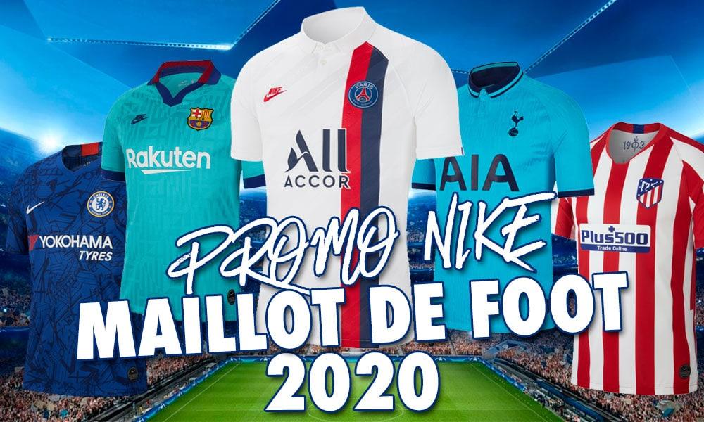 Maillots de foot pas cher Nike 2020