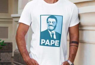 Un T-Shirt en Hommage à Pape Diouf
