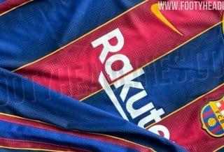 Le nouveau maillot de foot du Barça 2020-2021 a fuité