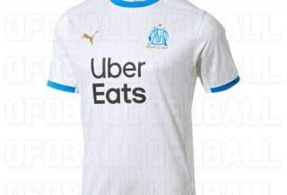 Le maillot domicile de l'Olympique de Marseille 2020/21 a fuité