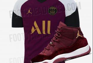 PSG: un maillot Third 2020/21 inspiré par une Air Jordan 11