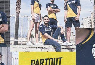 AS Monaco, le maillot extérieur 2021 dévoilé par Kappa