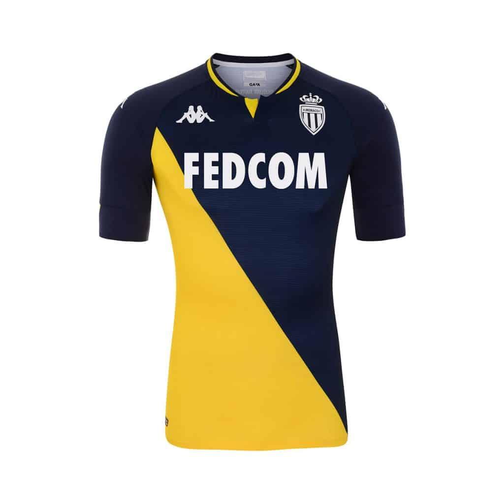 AS Monaco, le maillot extérieur 2021