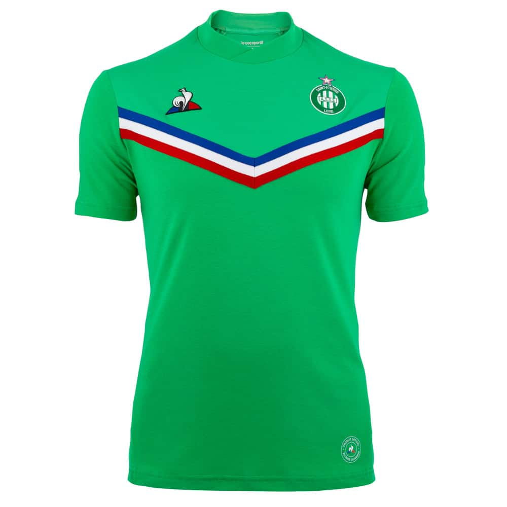 "AS Saint-Etienne, un maillot ""Made In France"" pour la finale de la Coupe de France 2020"