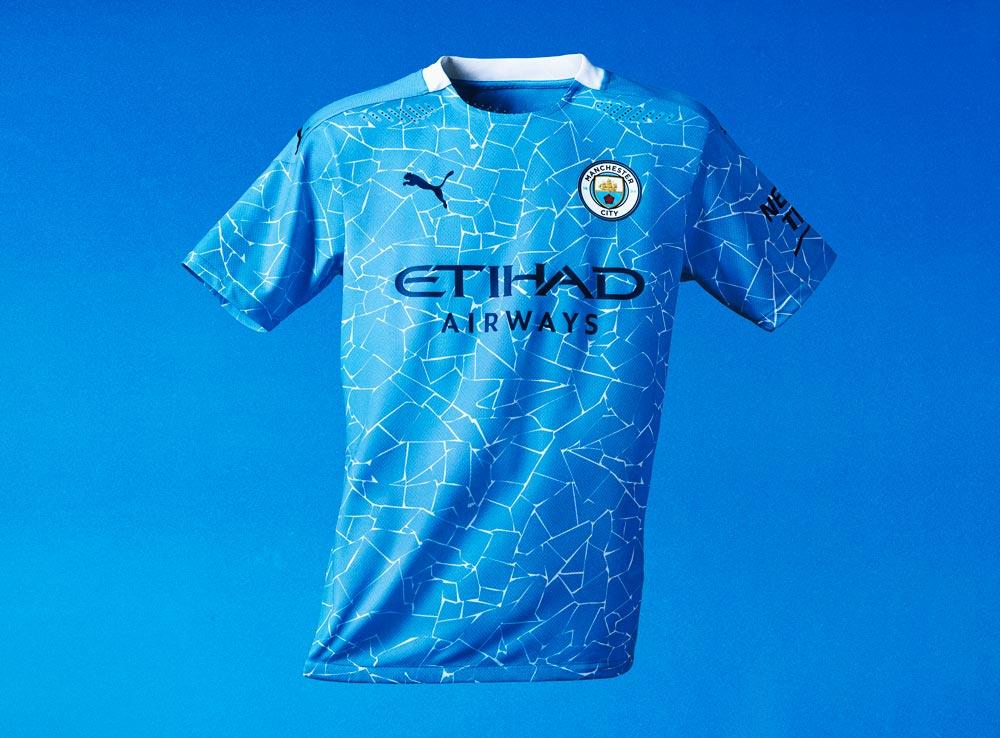 Maillot domicile Manchester City 2021