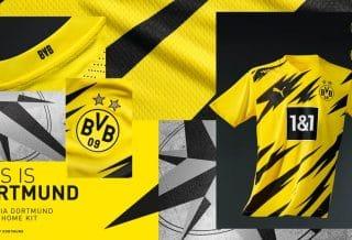 le Borussia Dortmund présente son maillot domicile 2020/21