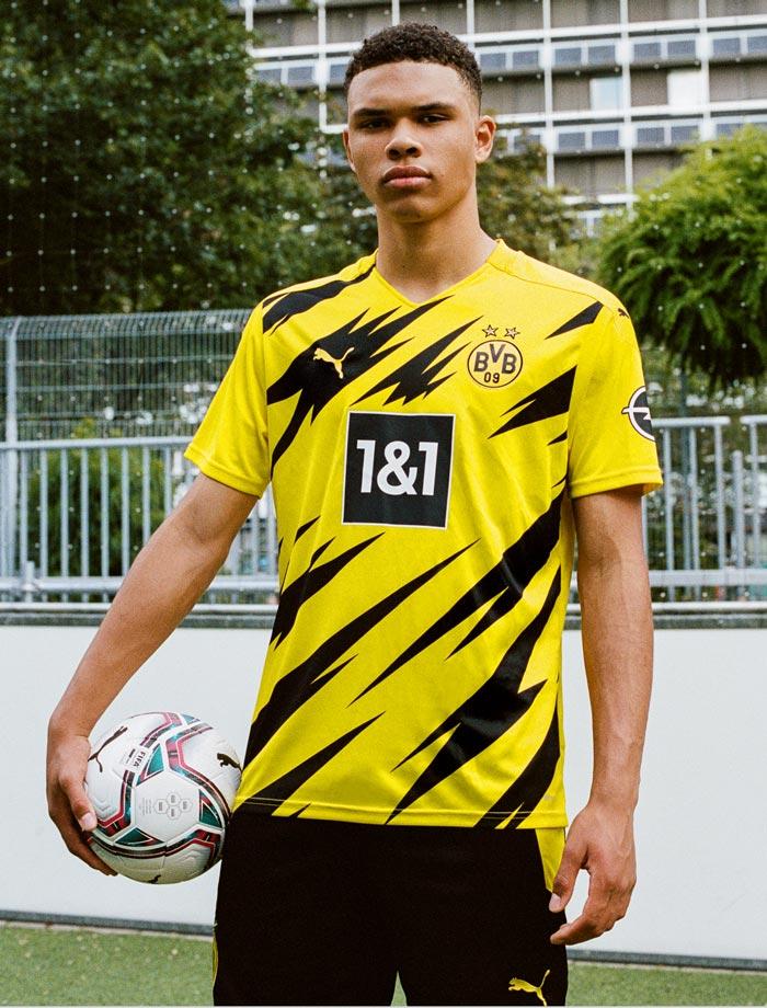nouveau maillot de foot du Borussia Dortmund 2021