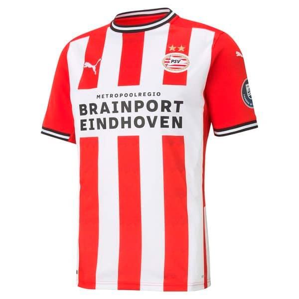 maillot domicile PSV Eindhoven 2021