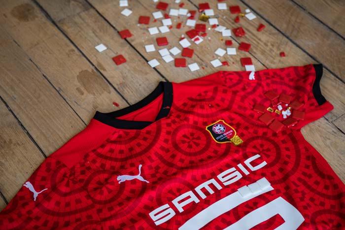 maillot domicile Stade Rennais FC 2021