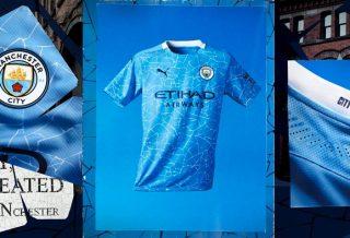 Manchester City, le nouveau maillot domicile 2021 dévoilé par Puma