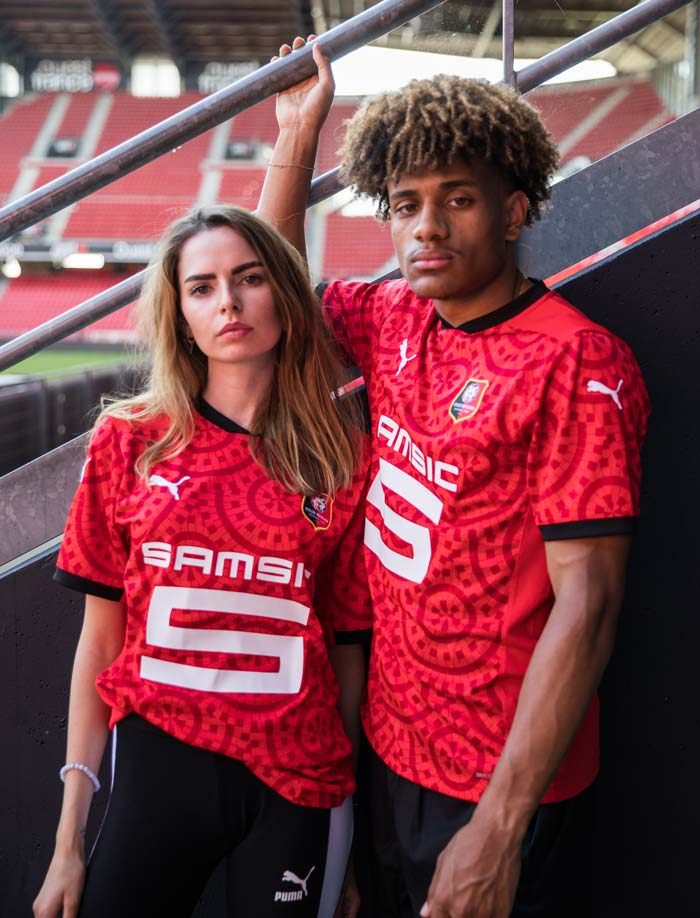 maillot foot rennes 2021