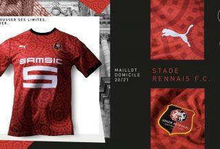 Stade Rennais : le maillot domicile 2021 dévoilé !