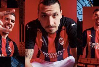 Milan AC, le nouveau maillot domicile 2021 dévoilé