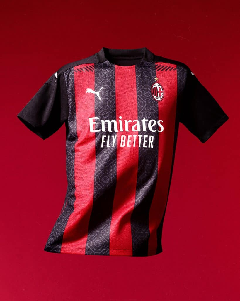 Milan AC Maillot domicile Home Kit 2021