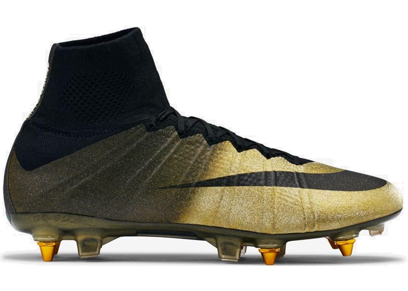 Nike Mercurial Superfly CR7 Cristiano Ronaldo Rare Gold