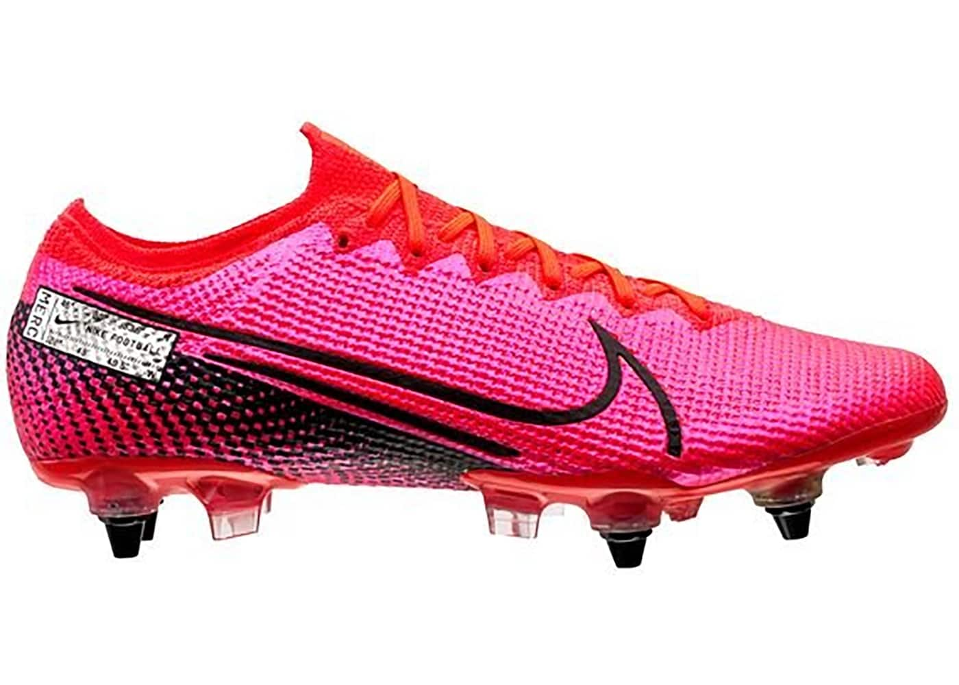 Nike Mercurial Vapor 13 Elite SG PRO Anti Clog Traction Laser Crimson