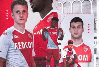 AS Monaco : le nouveau maillot domicile 2020/21 dévoilé