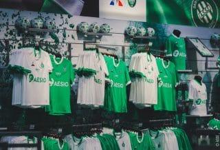 AS Saint-Etienne, les nouveaux maillots 2021 dévoilés