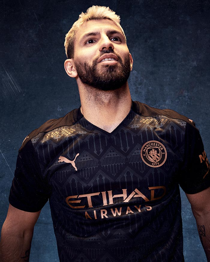 Away Kit Manchester City 2021