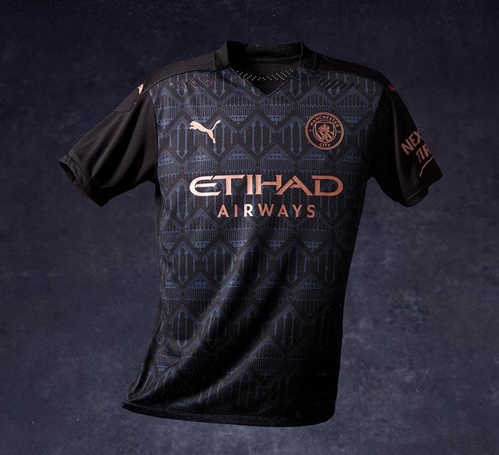 Manchester City dévoile son maillot extérieur 2020/21
