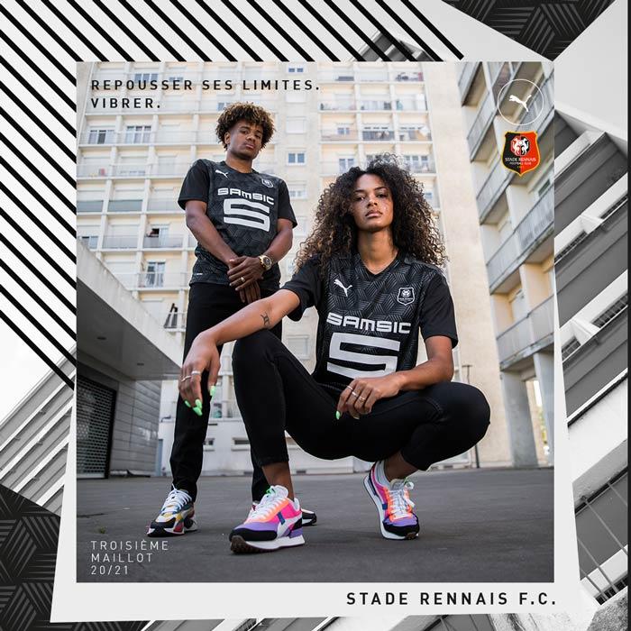 Stade Rennais FC : le troisième maillot 2021 dévoilé par Puma
