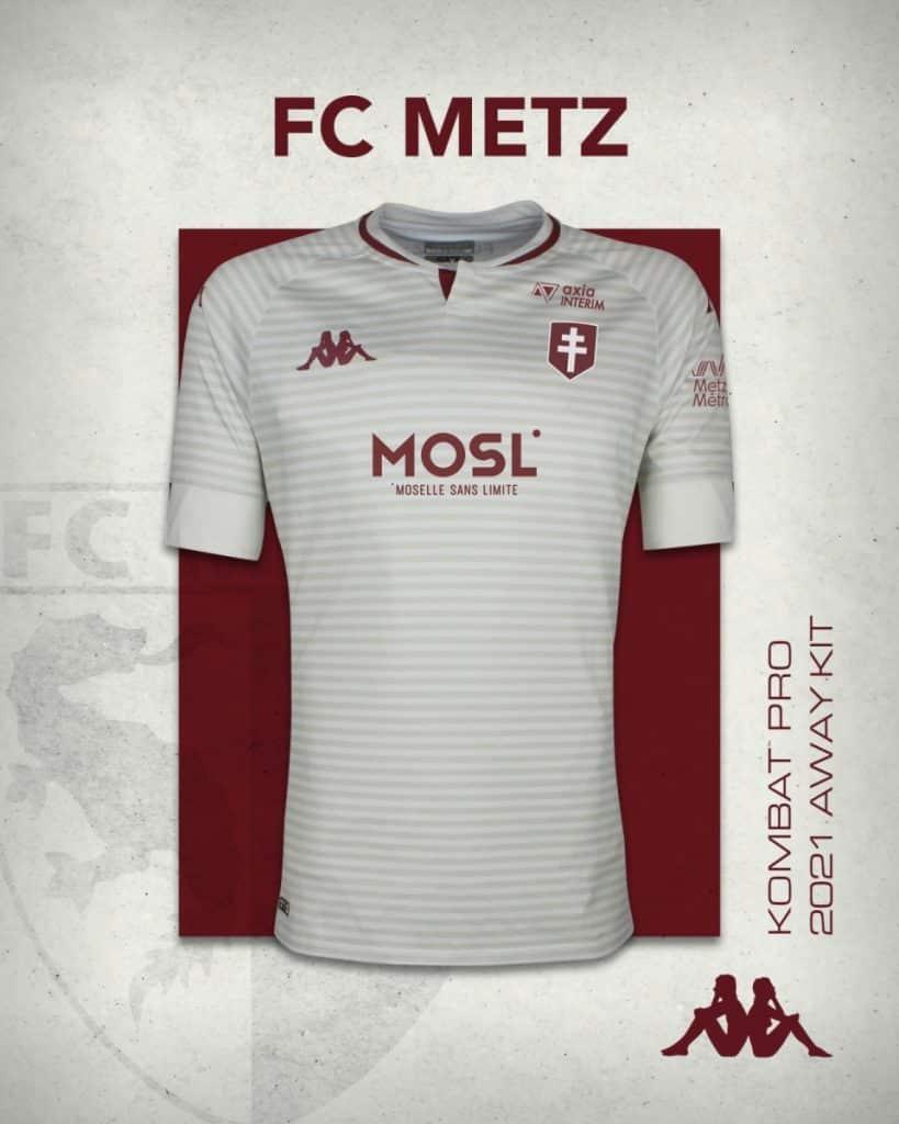 Maillot extérieur FC Metz 2020-2021