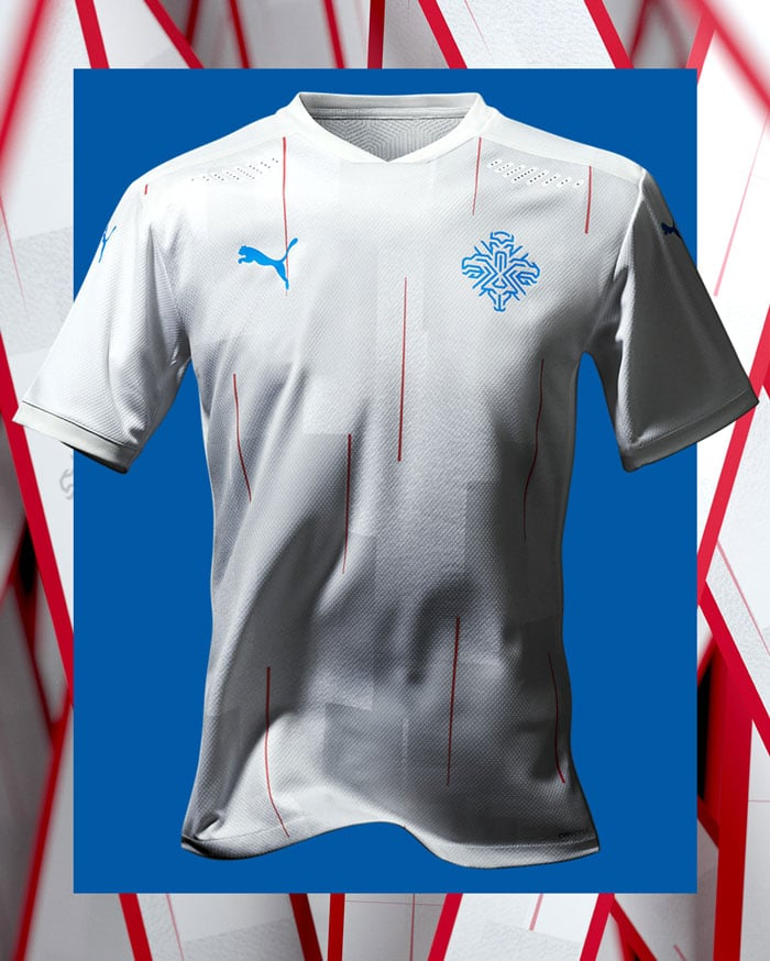 maillot extérieur Islande EURO 2021