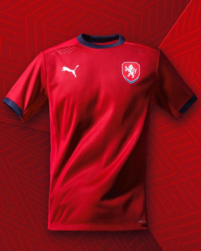 maillot République Tchèque EURO 2021