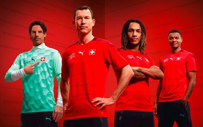 Maillot de foot Suisse EURO 2021