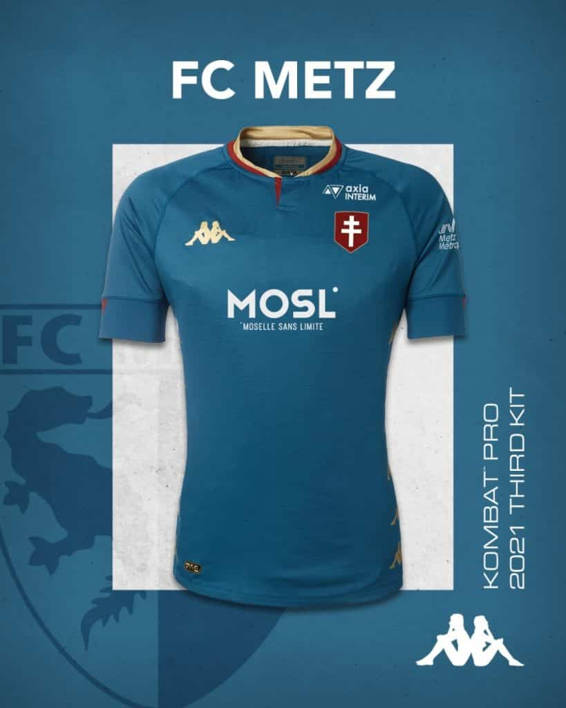 Maillot third FC Metz 2020-2021