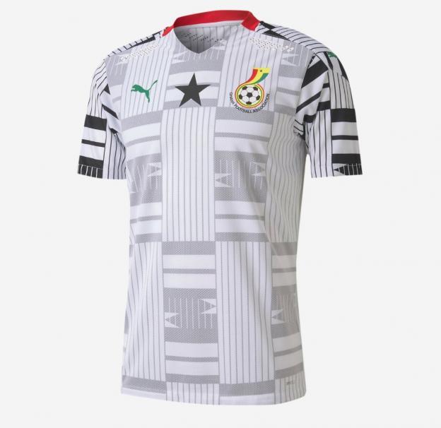 maillot domicile Ghana 2020