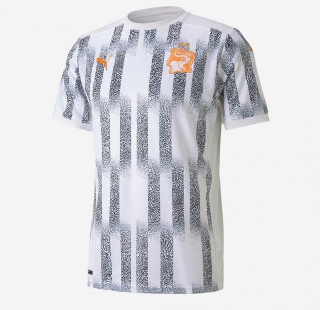 maillot extérieur Côte d'Ivoire 2020