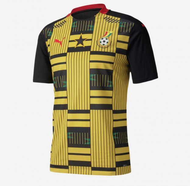 maillot extérieur Ghana 2020