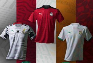 Puma présente les maillots de ses sélections africaines