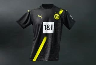 Maillot Extérieur du Borussia Dortmund 2020/21