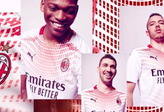 Milan AC nouveau maillot extérieur 2020-2021 par Puma