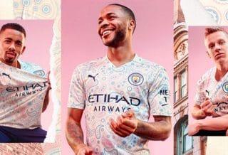 Manchester City, un maillot third qui célèbre la culture musicale
