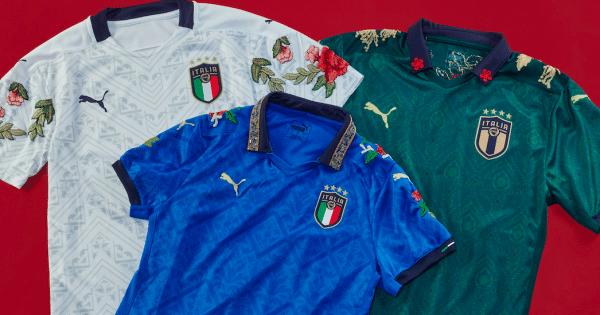 Puma Maillot customisés FIGC