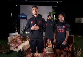 adidas et Arsenal présentent une collection avec la marque 424